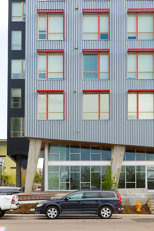 low income apartments downtown denver co phase of the mariposa redevelopment was designed by denvers humphries poli architects photo from poli yes this is public housing how denver housing authority mixing