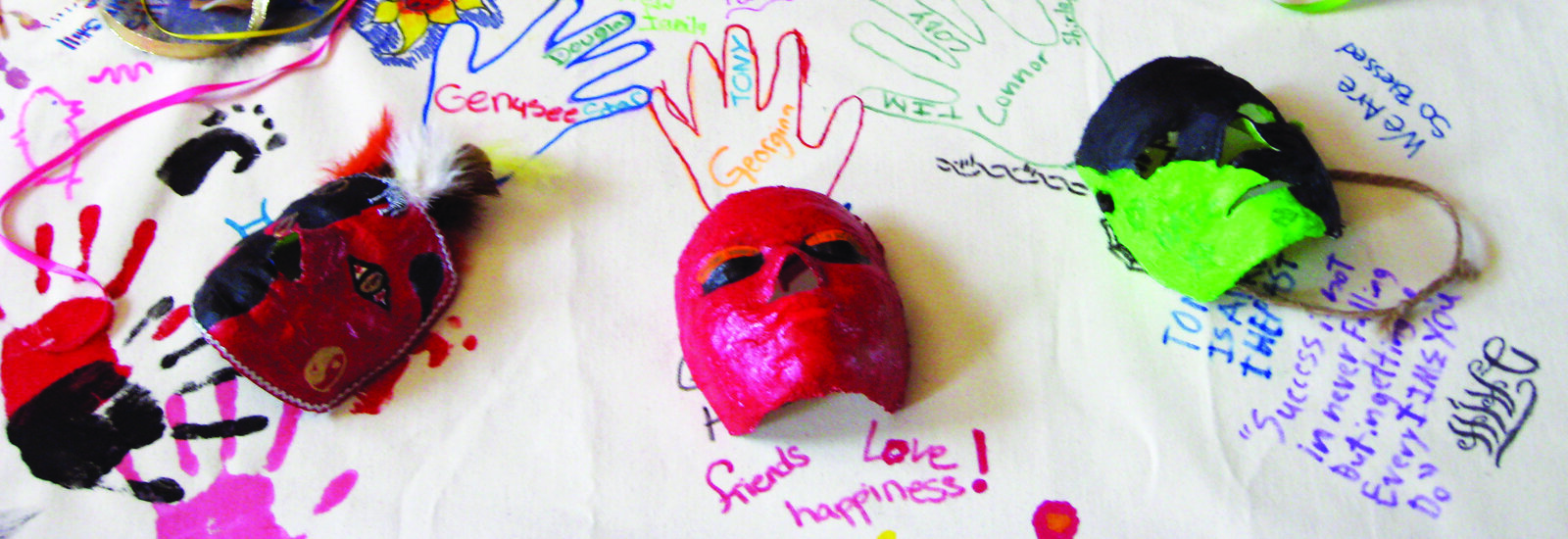 With assistance from Arts in Society, Hope West helps kids through grief.