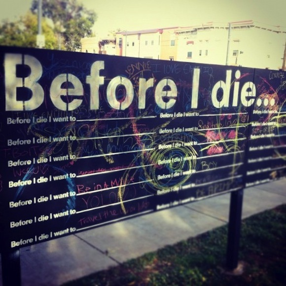 Curtis Park Denver Real Estate: Before I Die... Mural Moving From Curtis Park To McNichols