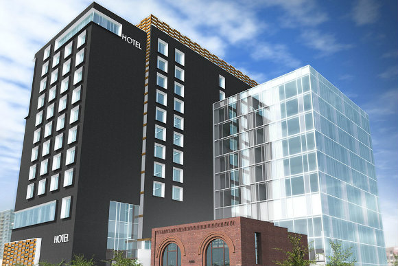 The hotel is slated to open in 2018.