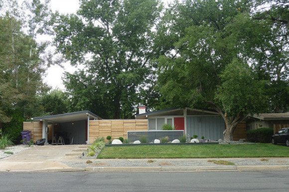 This home on South Lowell Street was designed by architect Cliff May, and was one of several homes surveyed as part of the Discover Denver Harvey Park pilot.