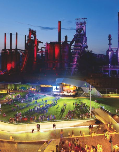 Levitt Steelstacks in Bethlehem Pa.