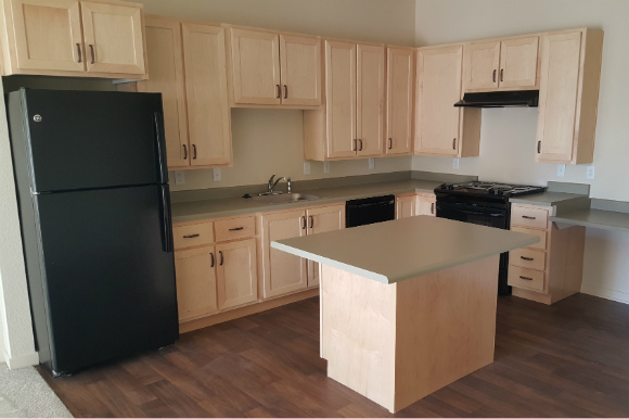 A kitchen at Ruby Hill Residences.