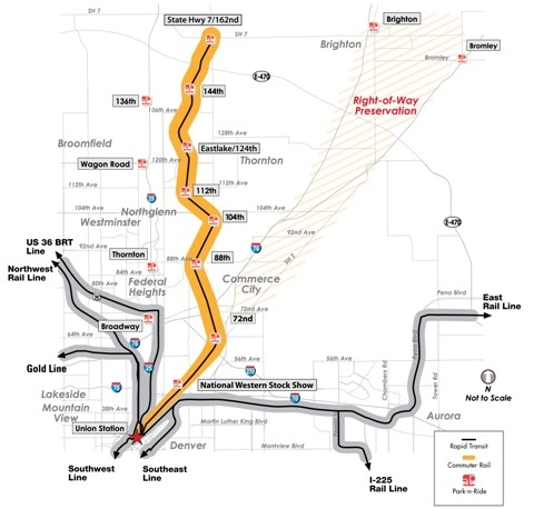 Rtd Gets Bids For North Metro Line