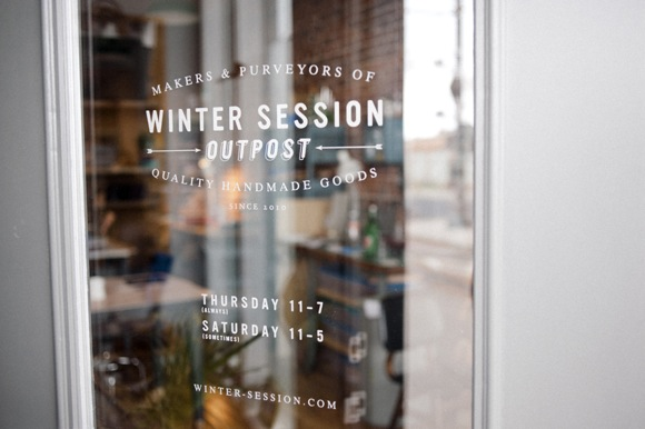 The Winter Session storefront at 2952 Welton St.