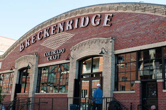 Breckenridge Brewery is just one of many breweries in Denver.