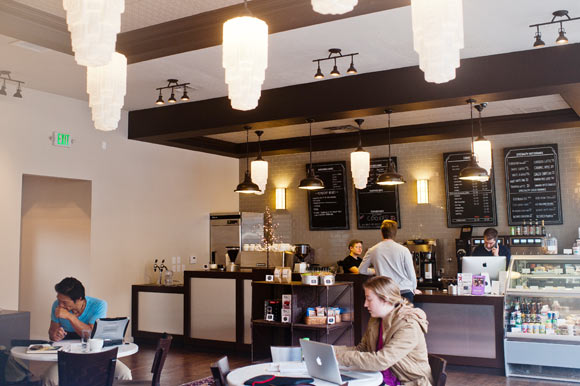 The Desk, a coworking spot in Capitol Hill, also offers a coffee shop.