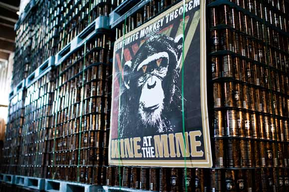 Infinite Monkey Theorem is only one of two companies in the country to produce canned wine.