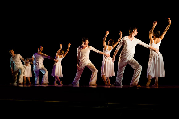 """From Darkness to Light,"" a ballet performed during ""A Journey of the Human Spirit."""