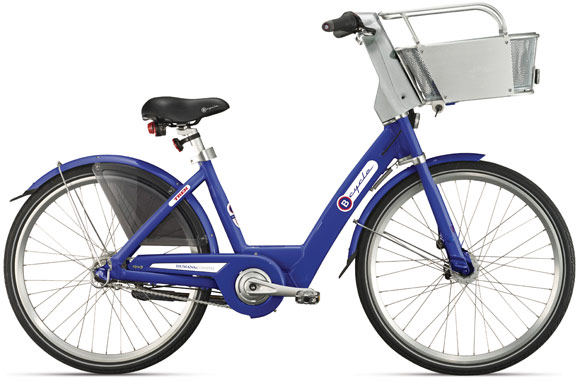 A B-cycle bicycle.