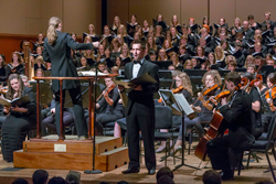 The University of Denver's Lamont Symphony Orchestra.