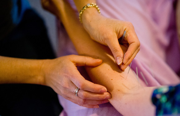 Acupuncture corrects imbalances in the body.