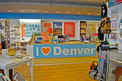 The I Heart Denver store is located at the Denver Pavillions.
