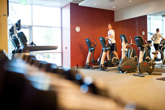 DaVita has a 24-hour fitness facility for employees.