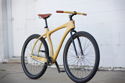 Connor Wood Cycles' Woody Cruiser.