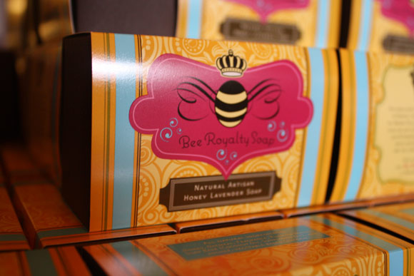 The Brown Palace uses the honey in some of its spa products.