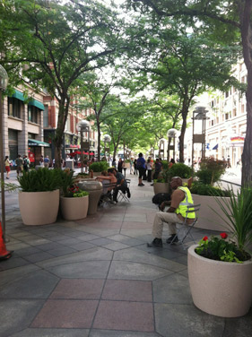 The Garden Block's goal is to increase the use of the 16th Street Mall.