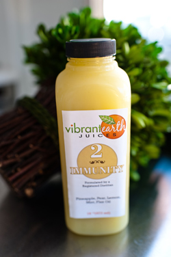 Vibrant Earth offers eight different juice varieties.