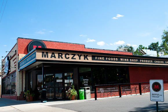 Pete Marczyk and Barbara Macfarlane opened their second Marczyk Fine Foods on East Colfax two years ago.
