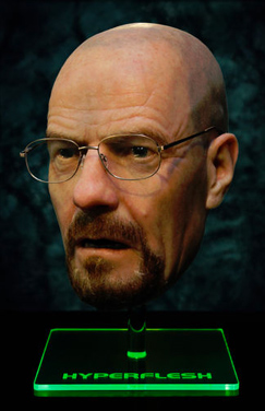 Walter White mask signed by Bryan Cranston  got bids north of $40,000 on eBay.