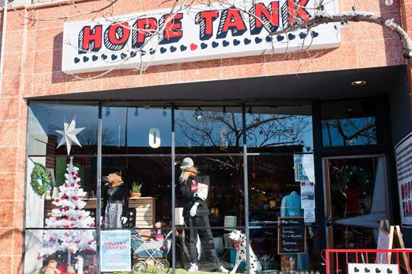 Hope Tank originally opened up in Santa Fe's art district in February 2012 and relocated to Broadway in 2013.