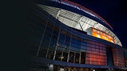 The new Daktronics scoreboard at Sports Authority Field at Mile High is the third largest in the NFL.