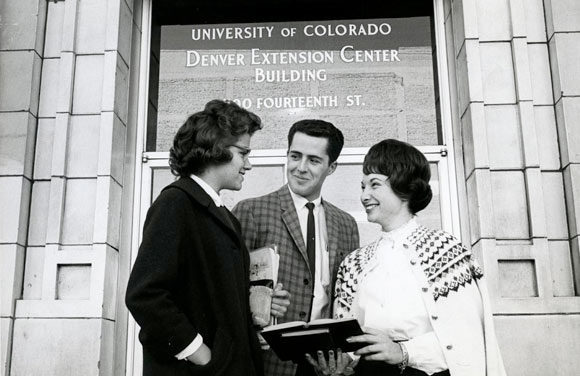 The 40-year-old University of Colorado Denver has been around in one form or another for more than a century.