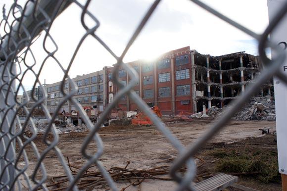 Gates Demolition Underway Redevelopment Next