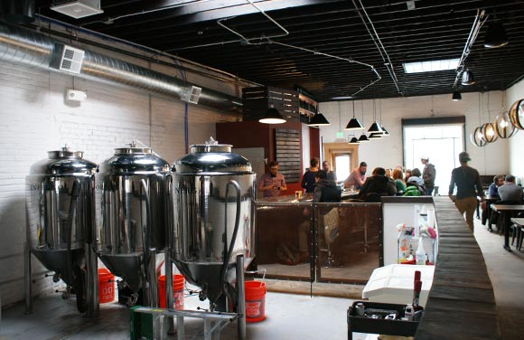 Former Future Brewing Company just opened at 1290 S. Broadway.