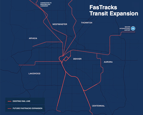 The FasTracks light-rail expansion is a standout example of regional collaboration.