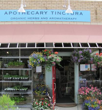 Apothecary Tincture carries a variety of natural toiletries.