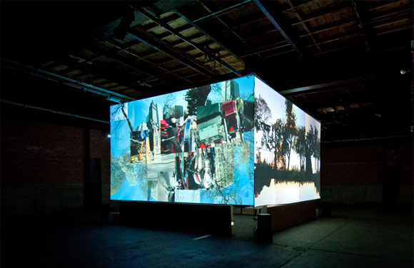 Denver videophiles will have the chance to experience Monkey Town 4 through June 1, in the RiNo Art District's Exdo Hall.