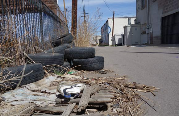 Cleanliness is a problem that's plagued Denver's alleys.