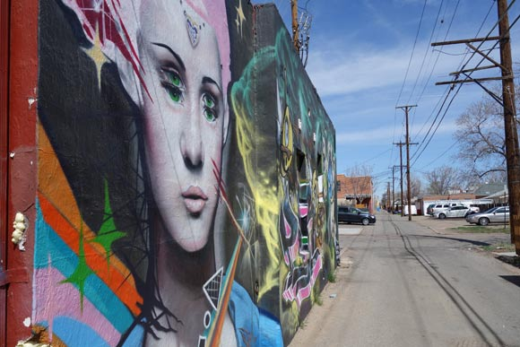 Denver alley art.
