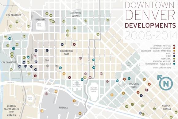 Downtown Denver Development Map Showcases 1 8 Billion In Current