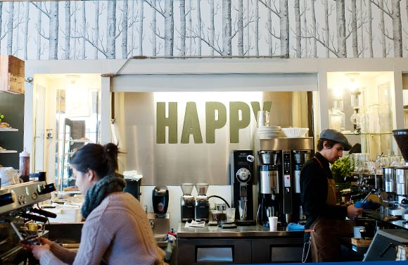 Happy Coffee gives South Broadway a caffeine fix.