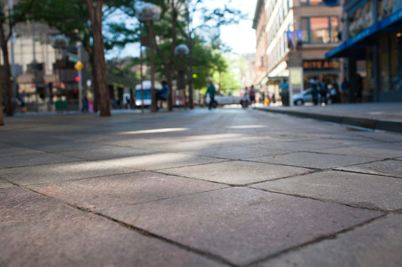 The pavers in the transit lanes need to be replaced, and the estimate is $65 million.
