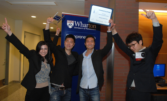 2014 Wharton Business Plan Competition winners.