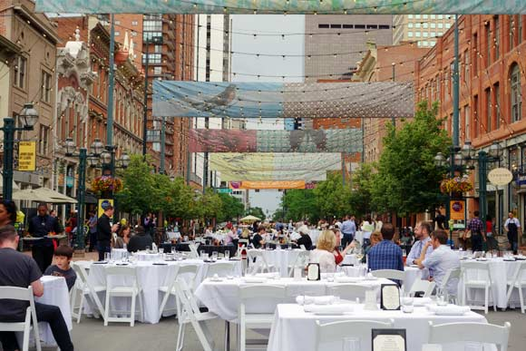 For Three Summer Nights Including Sat July 19 Larimer Square Is Closed To