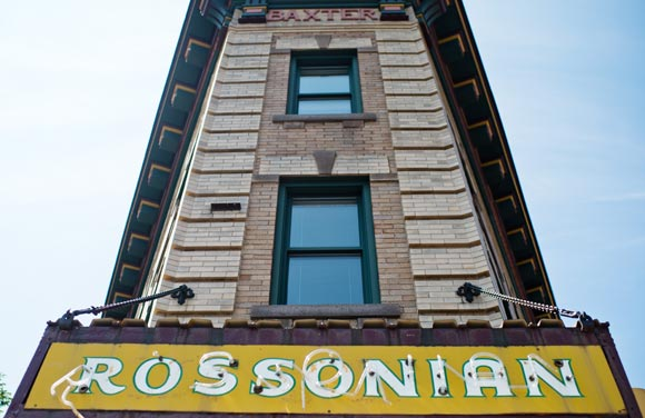 The Rossonian Hotel officially closed its doors in the late '70s.