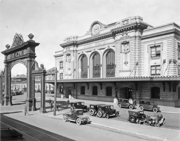 Opening in 1914, today's structure is actually the third Union Station.
