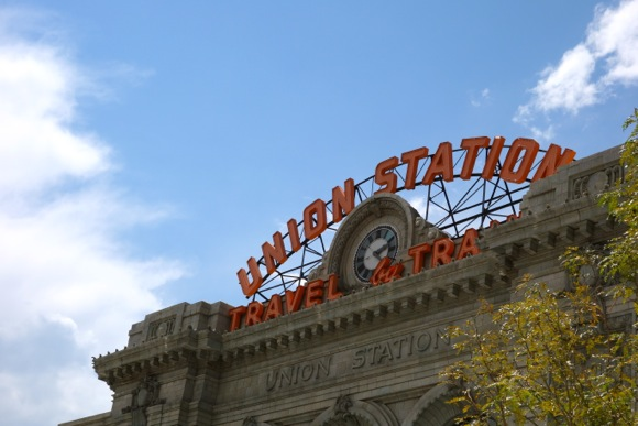 A century after its debut, the facade of Union Station looks the same as it did in its heyday.