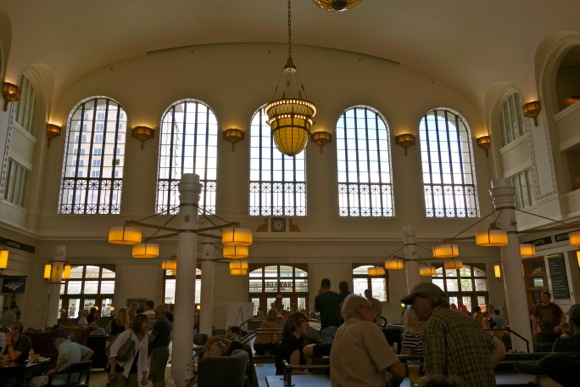 The Great Hall dazzles on opening day.