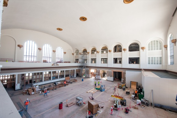 The four-year redevelopment project involved painstaking restoration of the Great Hall.