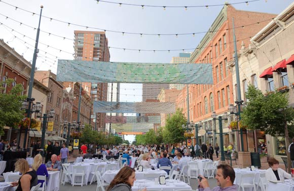 A half-century later, Larimer Square is one of the city's most vital places and a national model for urban preservation.