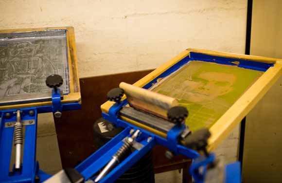 Screen printing will still continue at Cabal.