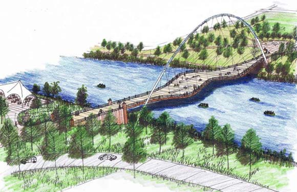 "The River North Master Plan calls for an ""Art Bridge"" and park in RiNo slated to be built by 2016."