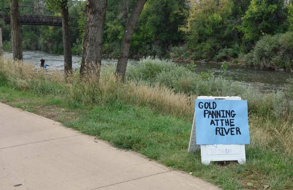 SPREE offers gold panning at Grant-Frontier Park.
