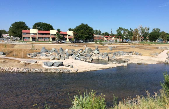 In Sun Valley, the jetty at Weir Gulch represents a return to a more natural state.