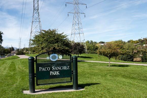 Paco Sanchez Park is located just off of Federal Boulevard on 12th Street.